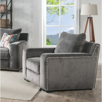Clayton Fabric Accent Armchair