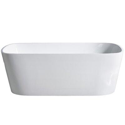 Aria 70'' x 32'' Freestanding Soaking Bathtub