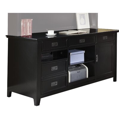 Imogen Wooden Office 5 Drawer Accent Cabinet