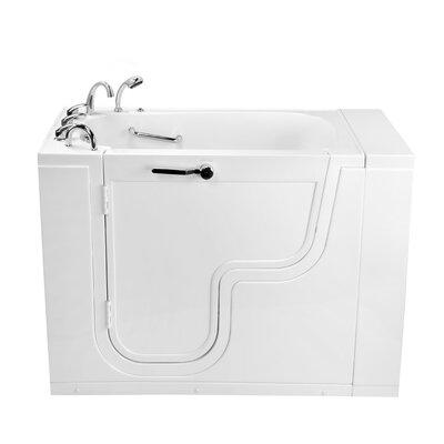 "Transfer26 Wheelchair Accessible Acrylic 26"" x 26"" Walk-In Bathtub Type: Air Massage"