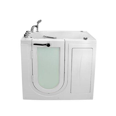 "Mobile Acrylic Dual Digital Control 45"" x 26"" Walk-In Bathtub Type: Combination Massage"
