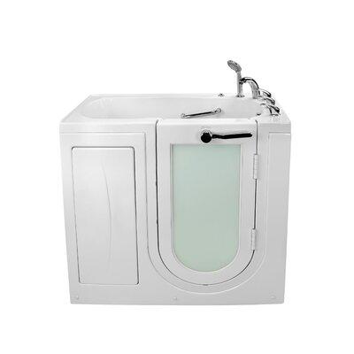 """Mobile Acrylic 45"""" x 26"""" Walk-In Bathtub"""