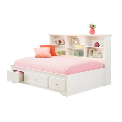 Dartmouth Youth Sideway Platform Bed with Drawer Size: Full