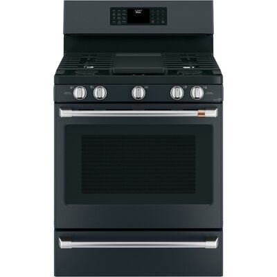"30"" Free-Standing Gas Range with Griddle"