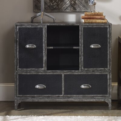 Jacinta Leather Accent Chest
