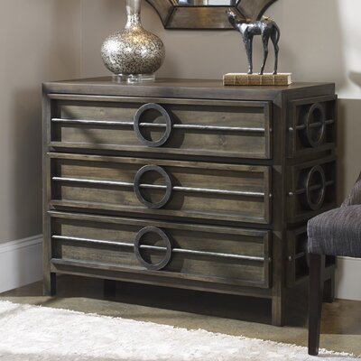 Sariyah Weather Walnut Accent Chest