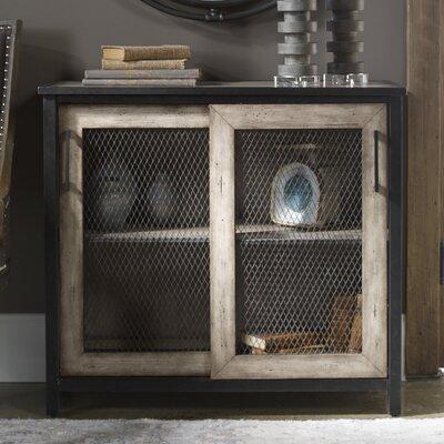 Maris Wire-Mesh 2 Door Accent Cabinet