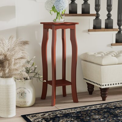 Corner Plant Stand Color: Dark Walnut
