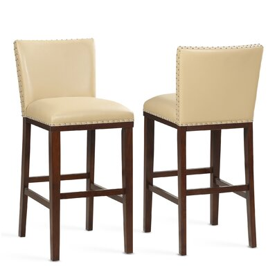 """Millwright 30"""" Bar Stool (Set of 2) Color: Toffee"""