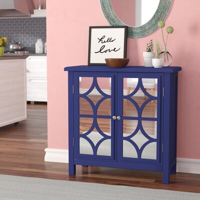 Antrim Accent Cabinet Color: Navy Blue