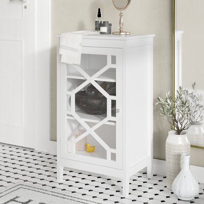 Pickwick Small Cabinet Color: White