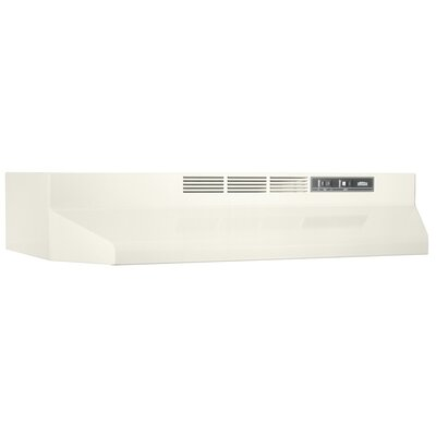 "30"" Ductless Under Cabinet Range Hood Finish: Bisque"