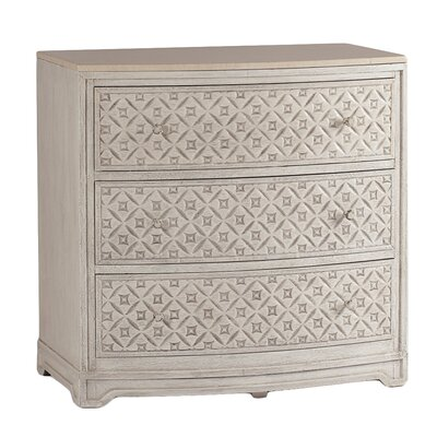 Pamela Marble and Carved Wood Chest