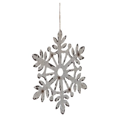 Large Snowflake Shaped Ornament