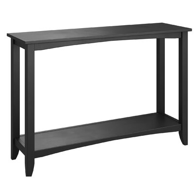 Horrell Console Table Color: Black