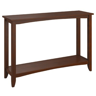 Horrell Console Table Color: Cappuccino