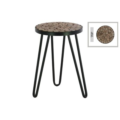 Sewell Metal Round Accent Stool