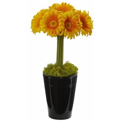Best Seller Artificial Gerber Daisy Floral Arrangement In Vase