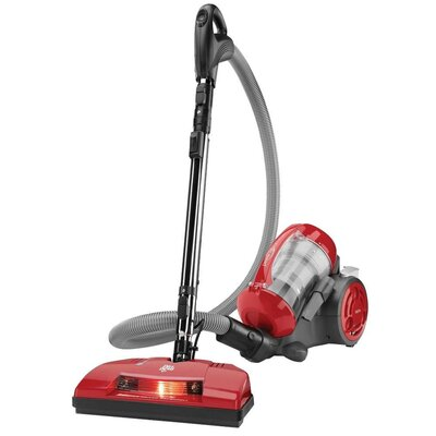 Power Reach Bagless Canister Vacuum