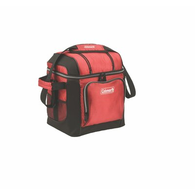 30 Can Coleman Cooler Color: Red
