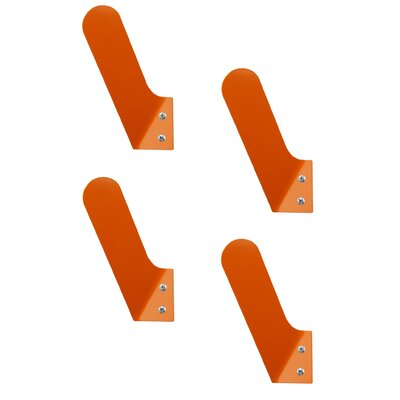 Tiny Wall Hook Color: Burnt Orange