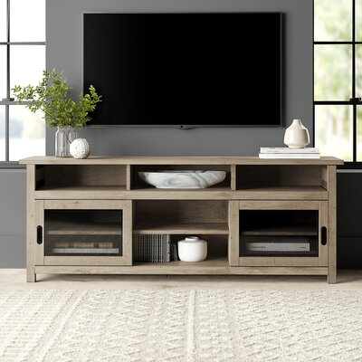 """Wootton 74"""" TV Stand Color: Sun-Drenched Acacia"""