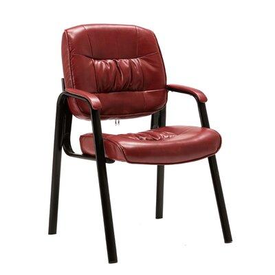 Stellan Guest Chair Color: Burgundy