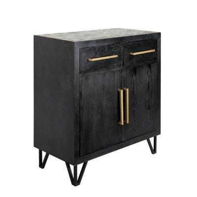 Dowlen Spacious Wooden Rectangular 2 Door Accent Cabinet