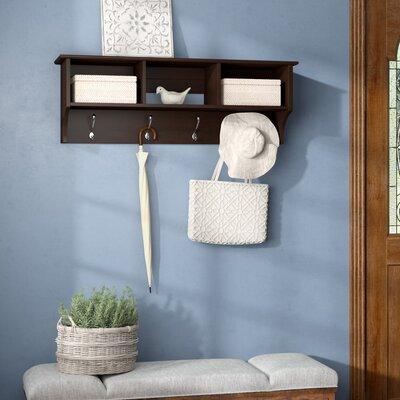 Hayman Entryway Shelf Color: Espresso