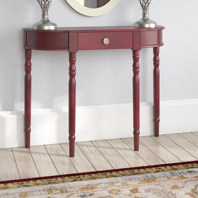 Kauffman Console Table Color: Dark Walnut
