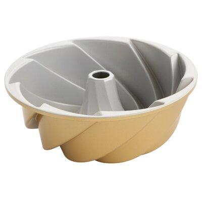 Non-Stick Bundt Heritage Pan Color: Gold