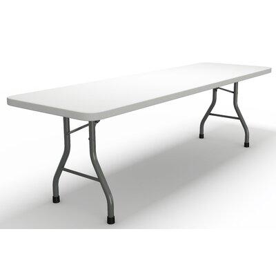 "Event Series Rectangular Folding Table Size: 29"" H x 96"" W x 30"" D"