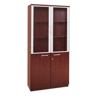 4 Door Storage Cabinet Finish: Sierra Cherry