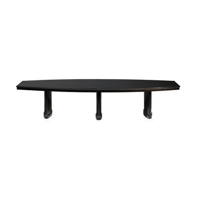 Sorrento Conference Table Size: 8' L, Finish: Espresso Walnut