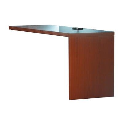 "Aberdeen 29.5"" H Right Desk Return Finish: Cherry, Size: 29.5"" H x 36"" W x 24"" D"