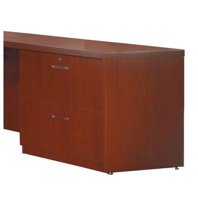"Aberdeen 27.5"" H Desk File Pedestal Finish: Cherry, Size: 27.5"" H x 36"" W x 20""D"