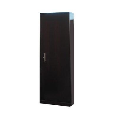 Sorrento 1 Door Storage Cabinet Finish: Espresso Veneer