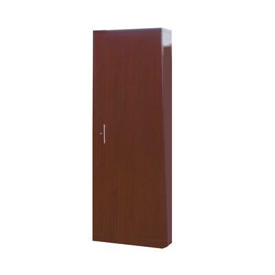 Sorrento 1 Door Storage Cabinet Finish: Bourbon Cherry Veneer