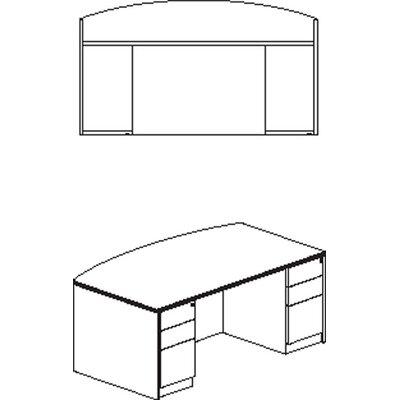 Luminary Series Executive Desk Finish: Maple