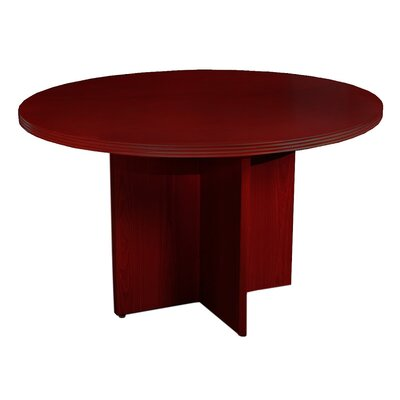 """Luminary Series Circular 29""""W x 42""""L Conference Table Finish: Cherry"""