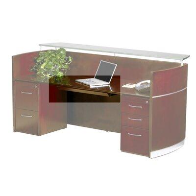 """Napoli 30"""" W x 18"""" D Desk Drawer Finish: Sierra Cherry Veneer"""