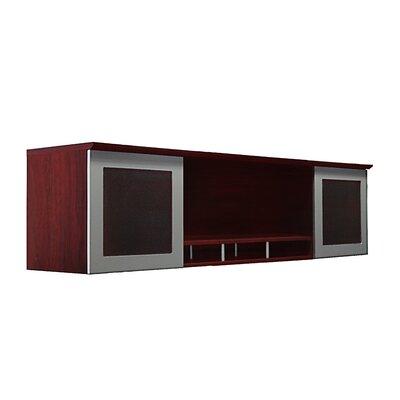 "Medina Series 50.5"" H x 63"" W Desk Hutch Finish: Mahogany"