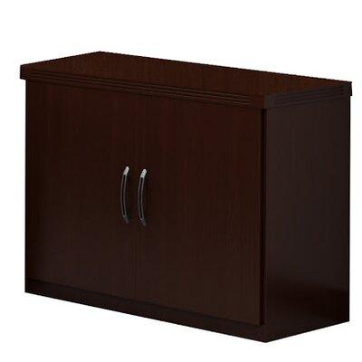 Aberdeen 2 Door Storage Cabinet Finish: Mocha