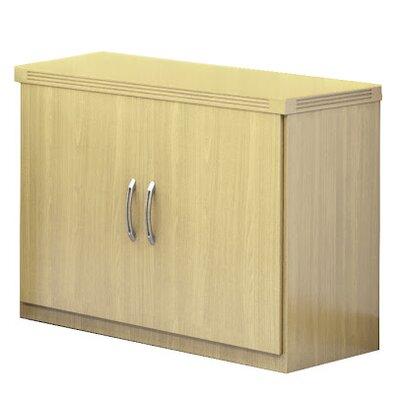 Aberdeen 2 Door Storage Cabinet Finish: Maple