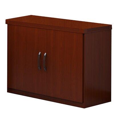 Aberdeen 2 Door Storage Cabinet Finish: Cherry