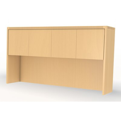 "Aberdeen 39.13"" H x 66"" W Desk Hutch Finish: Maple"