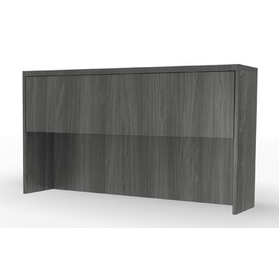 "Aberdeen 39.13"" H x 66"" W Desk Hutch Finish: Gray Steel"