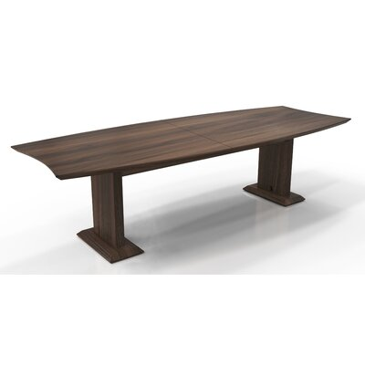 """Sterling Boat Shaped Conference Table Finish: Textured Brown Sugar, Size: 29.5"""" H x 120"""" W x 48"""" D"""