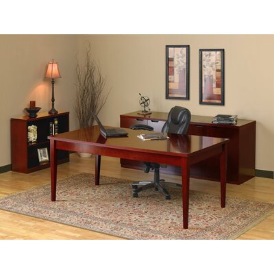 Mayline Group Luminary Series 3-Piece Standard Desk Office Suite