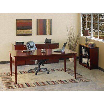 Mayline Group Luminary Series 4-Piece Standard Desk Office Suite